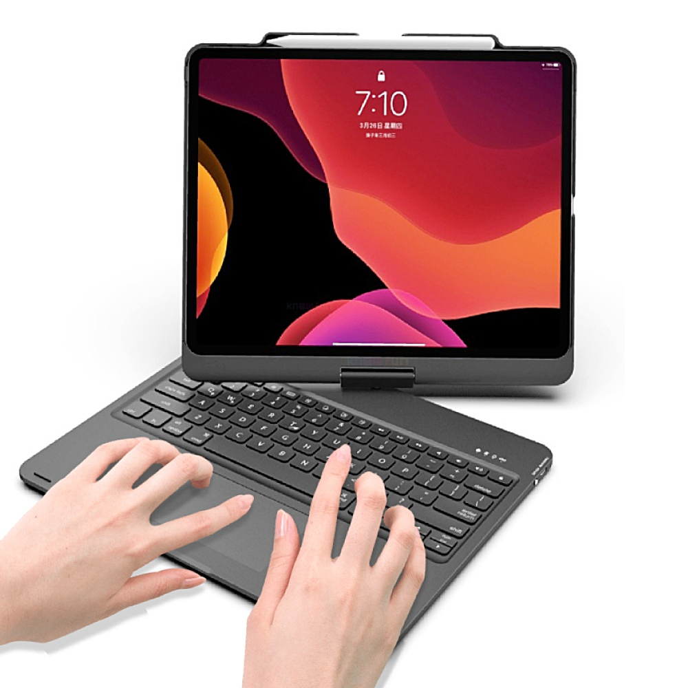 Rotatable Wireless Bluetooth Keyboard Case for Apple iPad Pro 12 9 inch 2020 A2233 A2229 A2232