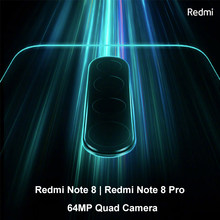 New Redmi Note 8 Note 8 Pro 4GB RAM 64GB ROM 64MP Quad Camera Note 8 Series Smartphone New Cellphone(Hong Kong,China)
