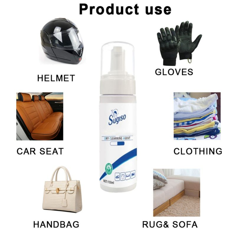 Foam Dry Cleaning Agent Disposable Stubborn Stains Clothing Dust Cleaning Down Jacket Cleaner
