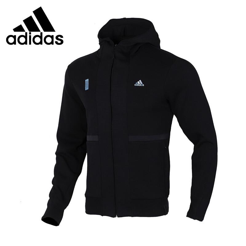 Original New Arrival  Adidas  WJ HTT Men's Jacket Hooded  Sportswear