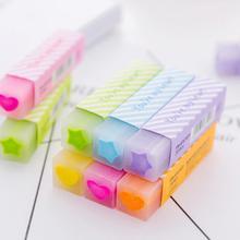 1 шт./ ластик карандаш для рисования качественные инструменты для школы милые предметы ластик резиновые принадлежности для карандашей Ластики для детей Ki W3W2