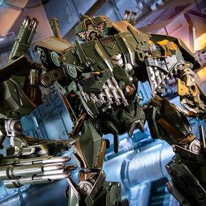Image 4 - שינוי קטטה BMB שחור ממבה LS 10 LS10 סגסוגת מתכת סרט סרט voyager מהדורה פעולה איור רובוט מעוות צעצועי מתנות
