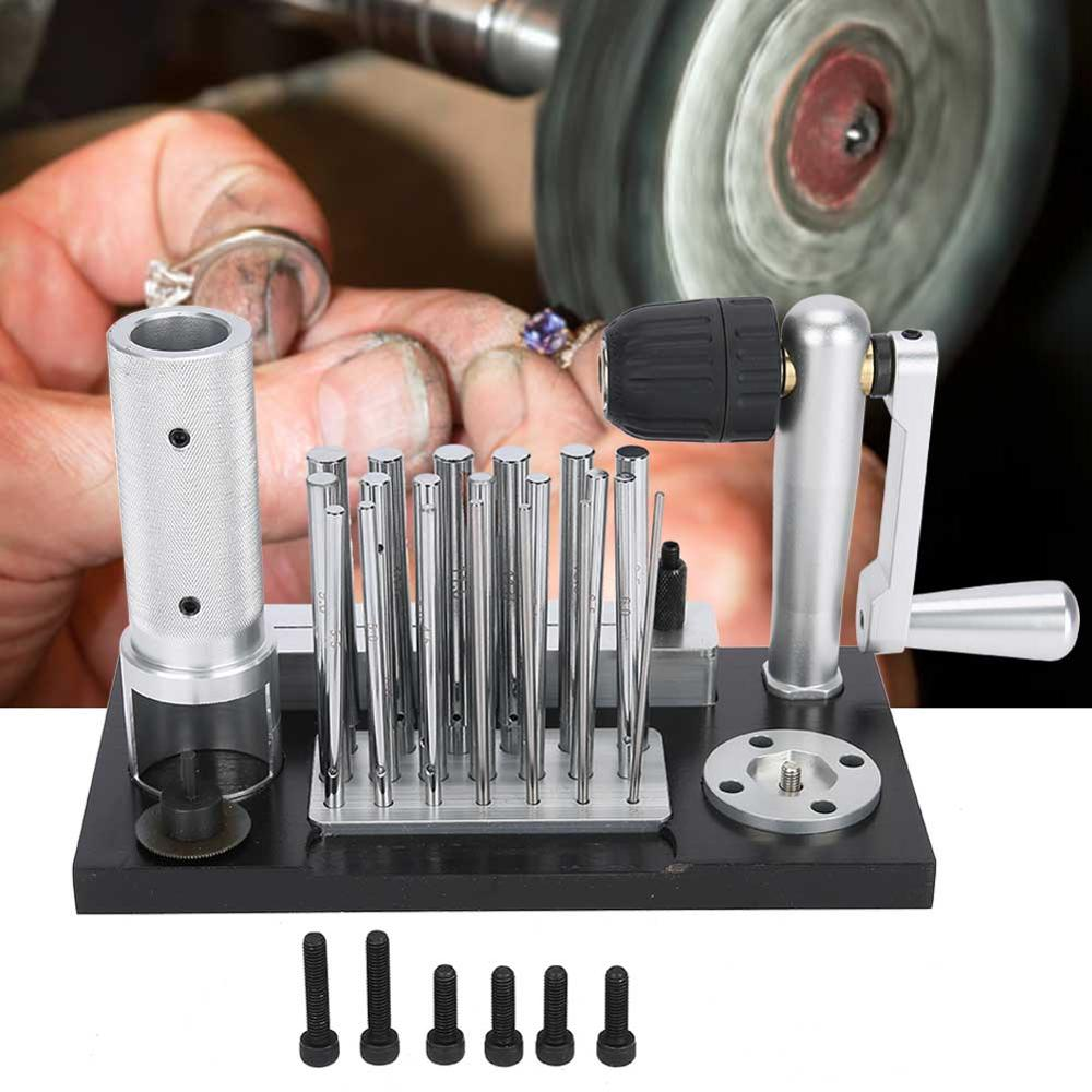 Stainless Steel Manual Jump Ring Maker Machine Jewelry Tool with 20 Mandrel Accessory Jewelry Making Machine Ring Maker