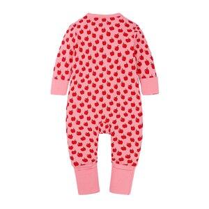 Комбинезон для новорожденных девочек, пижама с длинным рукавом, одежда со звездами, Комбинезоны для младенцев, новинка, осенняя весенняя одежда, комбинезоны, женский