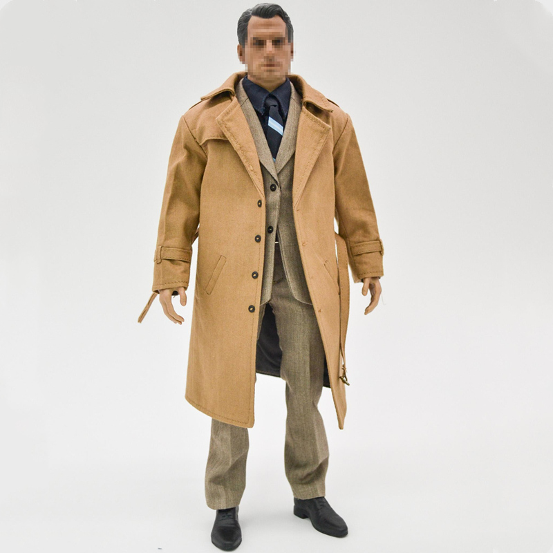 1/6 Scale Superman Windbreaker Suit Set Body For 12 Inches Action Figure  Toys DIY Collectible