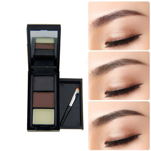 3Color Eyebrow Powder Palette Cosmetics