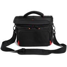 fosoto R4 Red DSLR Shoulder Bags Digital Video Photo Camera Bag Travel Case with Waterproof Rain Cover For Canon Nikon Sony Lens caden outdoor travel camera bag backpacks canvas lens laptop bags waterproof with rain cover for dslr canon nikon sony f5 f15