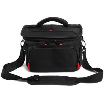 fosoto R4 Red DSLR Shoulder Bags Digital Video Photo Camera Bag Travel Case with Waterproof Rain Cover For Canon Nikon Sony Lens high quality multifunction professional double shoulder camera bag backpack case travel bag for canon nikon sony dslr camera