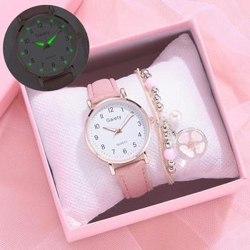 Leather Strap Casual Sport Clock Watch Fashion Women Watches