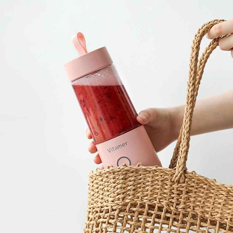 350 мл USB подзаряжаемый блендер портативный пищевой блендер бытовой Интеллектуальный соковыжималка миксер чашка спортивные питьевые аксессуары