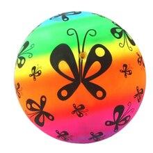 ПВХ футбол дети футбол мягкий надувной мяч в помещении на улице игры мячи для пляжа парка% 2C дома% 2C вечеринок