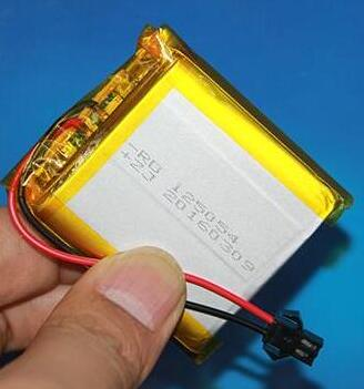 Free ship 1pcs <font><b>125054</b></font> 3.7v 4000mah toy car battery lithium ion polymer rechargeable battery image