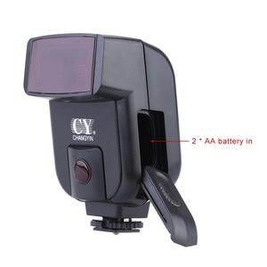Image 3 - Speedlite Mini cámara Universal con gatillo infrarrojo para Canon, Nikon, Olympus, Sony, Fuji, EOS, M50, A7III, A6500, NEX 7, GH4, X T20