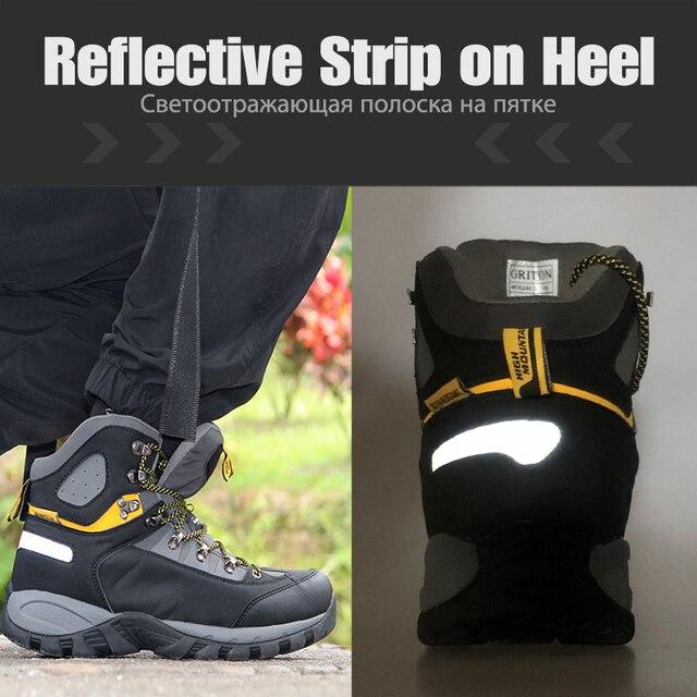 Купить мужские походные ботинки grition водонепроницаемые зимние тактические картинки цена