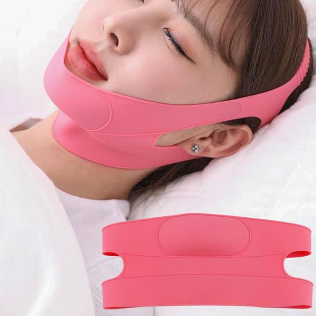 Delicate Face Neck Wrinkle Breathable Removal Slimming Mask Double Chin Lifting Face Firming Sleep Band Face Bandage Hot Sale