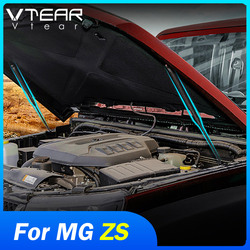 Vtear for MG ZS Car Modified Hood Gas Shock Absorber Engine Hydraulic Rod Strut Shock Absorbing Spring Strut Accessories Auto