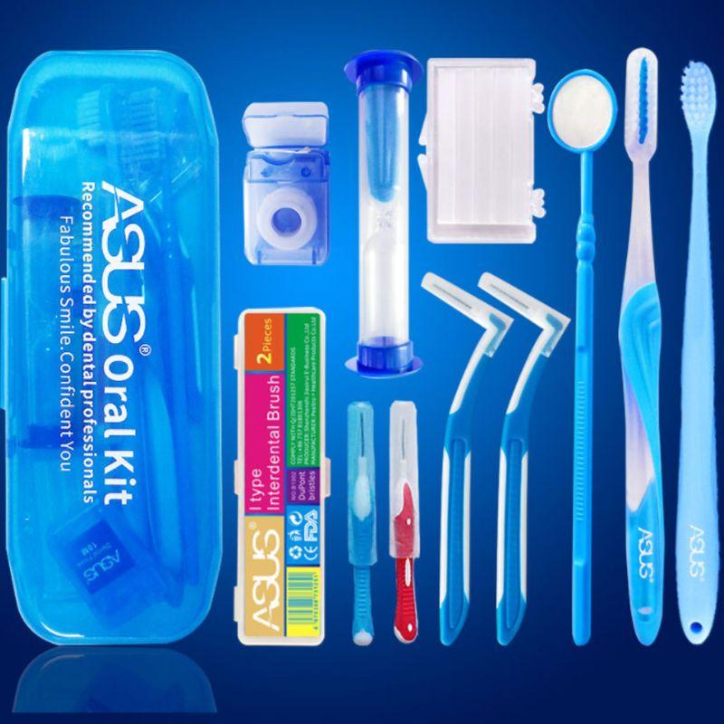 Fio Dental Escova Interdental Escova Ortodôntica 10