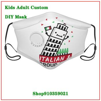 Italy Vintage Scooter Travel Poster DIY value mask for face fashionNew Arrival cloth face masks  High Quality face maskfashion