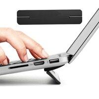 Arvin portátil suporte de resfriamento para macbook ar pro retina 13 15 portátil ajustável computador lapdesk escritório computador computador portátil computador portátil computador portátil riser suporte