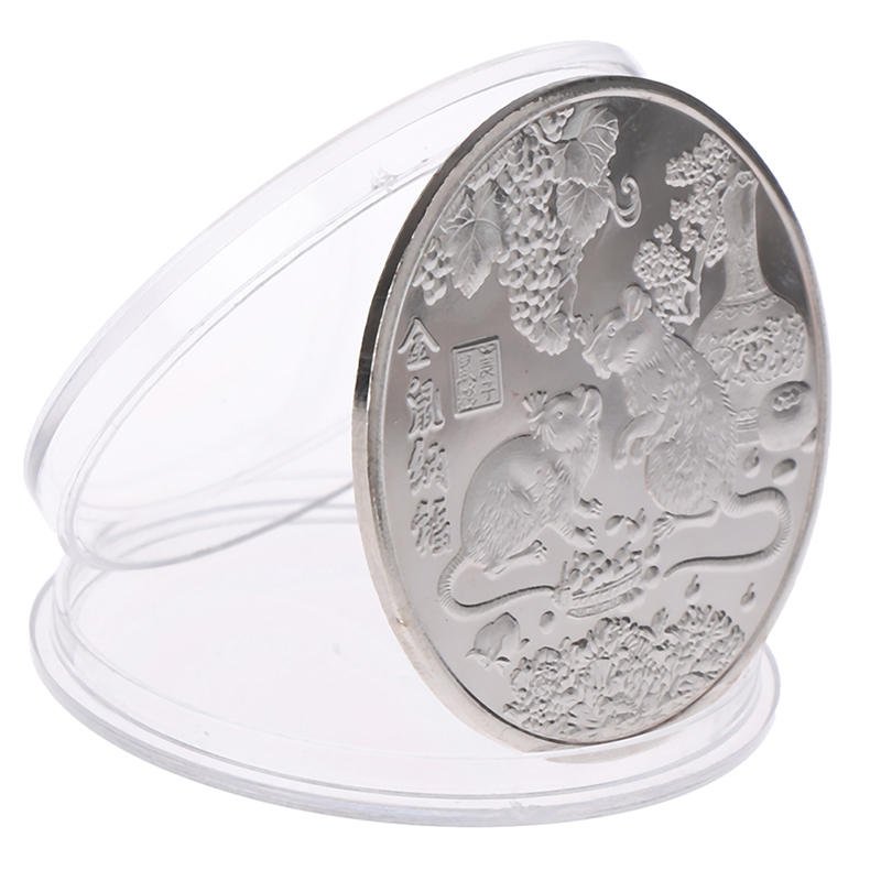 1PC The Zodiac Aries Coins Commemorative Coin For Collection Gifts
