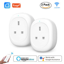 WiFi Plug Smart Socket Outlet Voice App Remote Control&Timer Function UK plug works with Alexa Google Home Smart life tuya mini недорого
