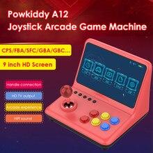 Портативный A12 9 дюймов аркадный джойстик игровой консоли 32 Гб 2000 игры палка игровая видео геймпад 1024*600 Разрешение
