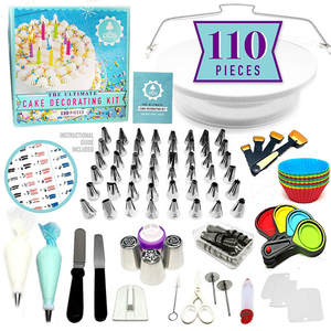Pastry-Nozzles Cake-Decorating-Tools-Kit Confectionery-Bags Turntable For Cakes Cream