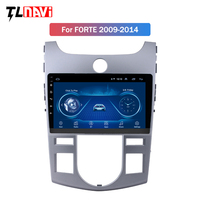 9 inch Android IPS 2.5D Car DVD GPS for KIA Forte Cerato 2008 2014 car Radio GPS navigation head unit build in wifi