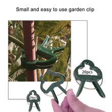 Fastener Greenhouse Bracket Pole Fixed Clamp Plants Flower Seedling Stem Support  Vines Grape Support Buckle Clamp/ plant support clip vines fastener