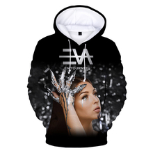 New Arrival 3D Eva Queen Hoodie Streetwear Hip Hop Funny Hoodies Unisex 3D Print Hooded Sweatshirts Fashion Casual Pullover