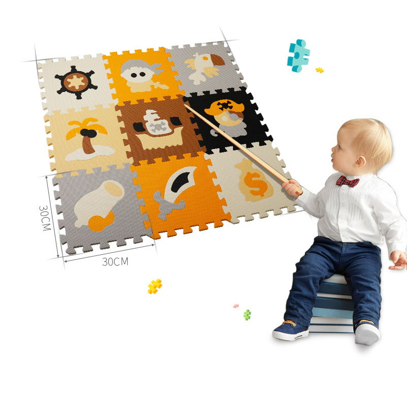 Cartoon Baby Toys Play Mat Puzzle Mats Playing Carpet Children's Developing Crawling Rugs Babies Puzzle Four Styles Kids Gifts   Happy Baby Mama