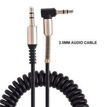 Cabo de áudio jack 3.5mm aux cabo 3.5mm jack alto-falante cabo para iphone 11 pro max xr 7 8 samsung para jbl carro fones de ouvido aux cabo