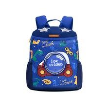Mochila impermeable para bebé, morral escolar para niño, mochila de diseño creativo para niño, conjunto de bolsa de dinosaurio para niña
