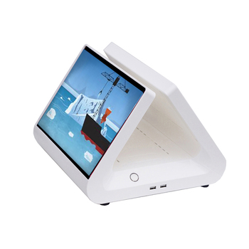 EPOS PC  Computer pos system hardware dual screen desktop pos terminal 12 inch capacitive touch screen cash register