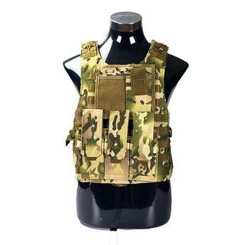 USMC Airsoft Military Tactical Vest Molle Combat Assault Plate Carrier Tactical Vest 7 Colors CS Outdoor Clothing Hunting Vest 11
