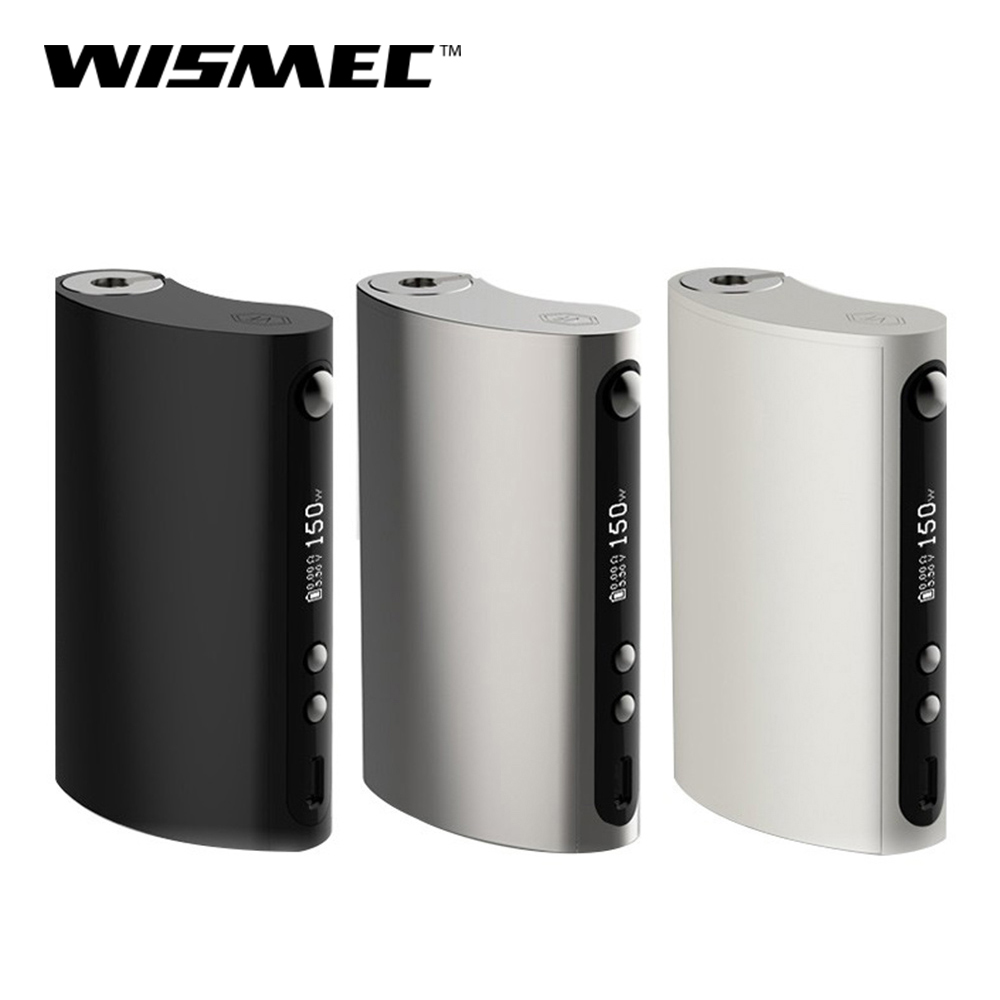Original 150W Wismec Vape Forward VaporFlask Classic Box Mod Output TC/VW Mode Vape Mod E-Cigarette Mod Box