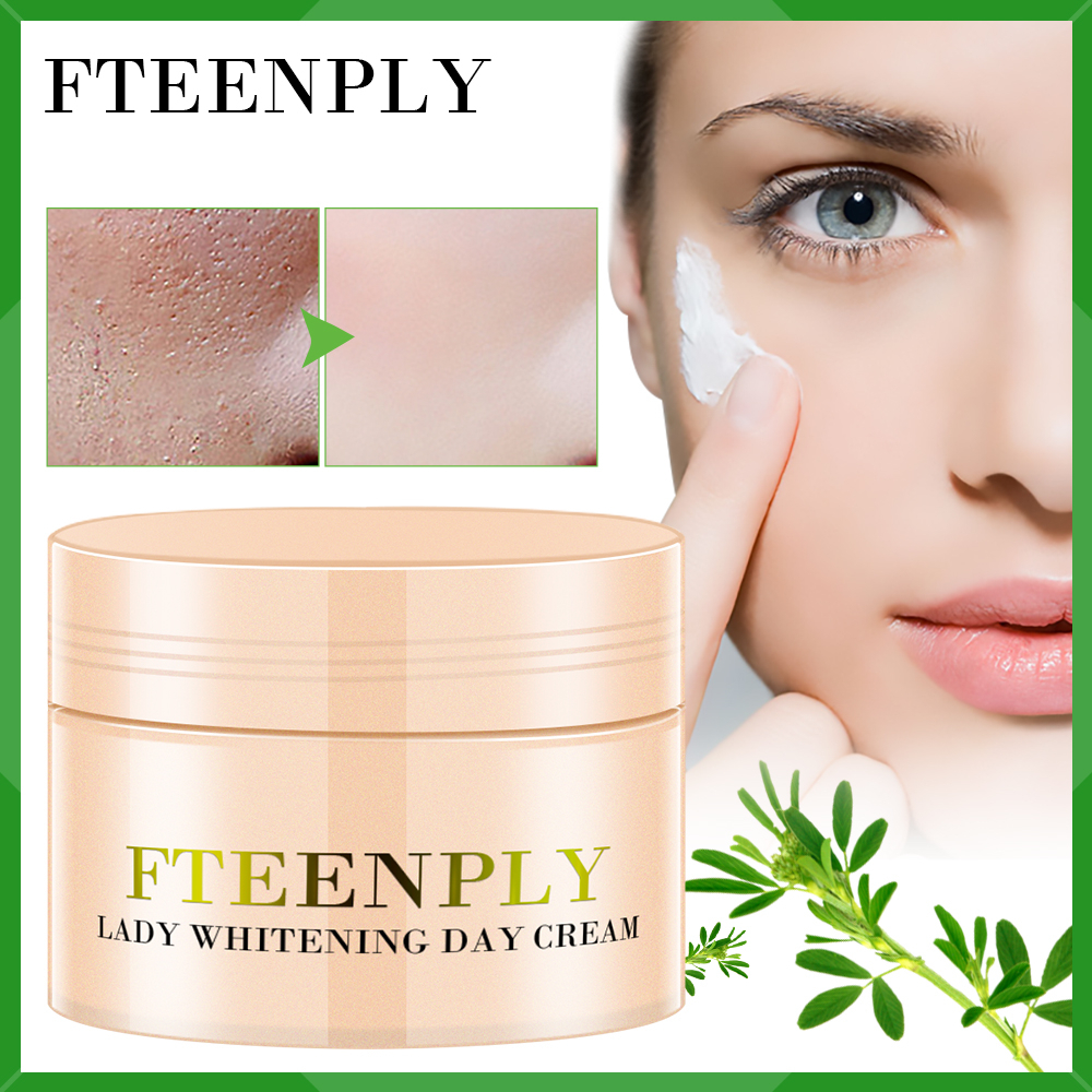 FTEENPLY Lady Whitening Day Cream Face Cream Lady Ointment Moisturizing Brightening Anti Wrinkle Repairing Anti Aging Skin Care image