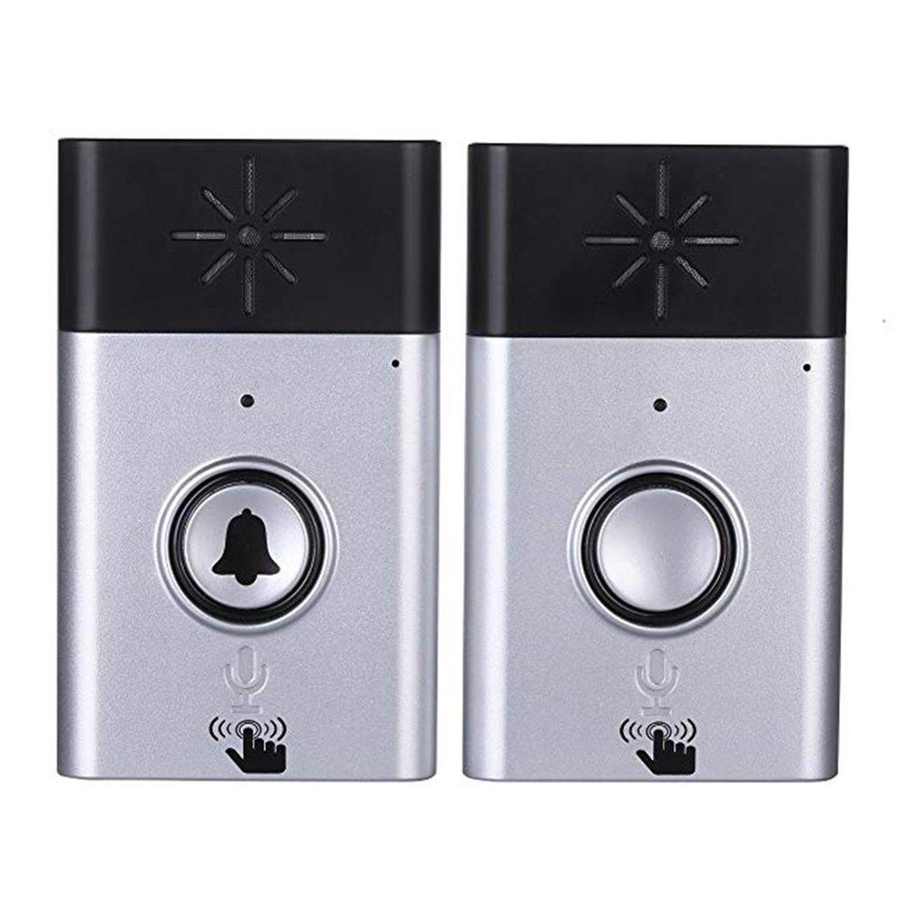 Wireless Intercom Doorbell Home Voice Intercom Doorbell Support Two-Way Intercom Professional Penetration Drop Shipping