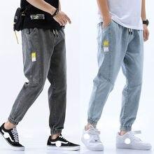 Осенне зимние мужские брюки в винтажном стиле хип хоп; Уличная