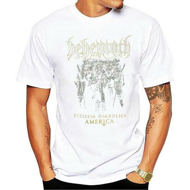 NEW Authentic BEHEMOTH Ecclesia Diabolica America Tour T-Shirt