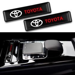 10 sztuk modny samochód naklejki dekoracyjne znaczek z symbolem naklejki car styling dla Toyota CROWN COROLLA REIZ akcesoria samochodowe w Naklejki samochodowe od Samochody i motocykle na