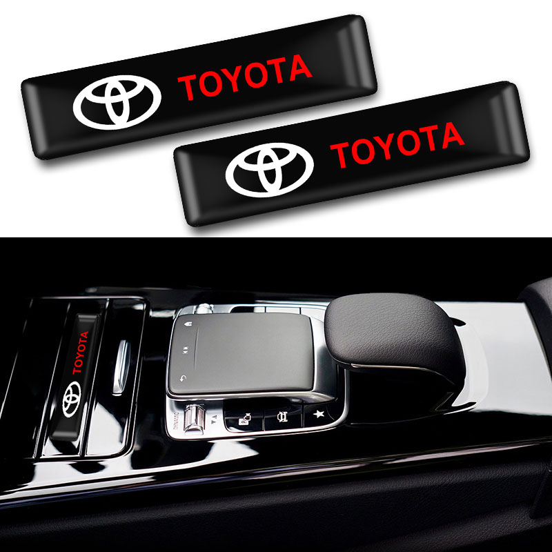 10pcs Fashion Car Decoration Stickers Emblem Badge Decals Car Styling For Toyota CROWN COROLLA REIZ Auto Accessories