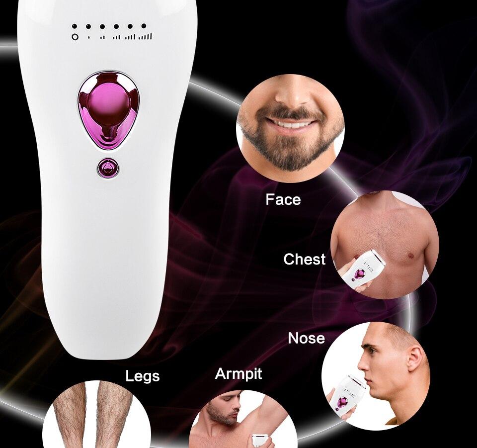 dispositivo depilador masculino feminino corpo biquíni
