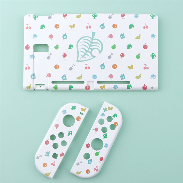 For Nintend Switch NS Joy Con Protective Case Hard Cover Housing Shell for AnimalCrossing Fans Game Controller Accessories