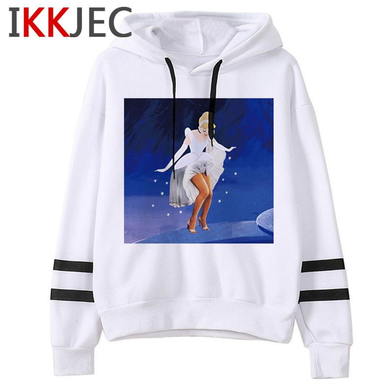 Aesthetic Harajuku Funny Cartoon Hoodies Women/men Grunge Princesses Vintage Sweatshirt 90s Graphic Fashion Hoody Female/male 15
