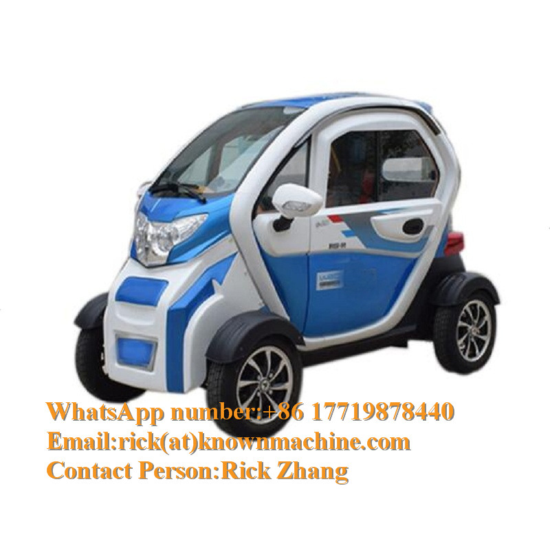 Mini Electric Carts With Three Seats For Europe Country To Use With Free Shipping By Sea