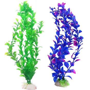 Artificial Aquarium Plant Decoration Fish Tank Submersible Flower Grass Decor Ornament For fish tank Decor Pet Supplies 1