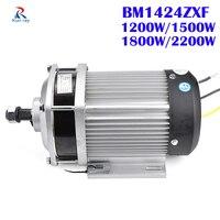 Bm1424zxf dc motor sem escova triciclo elétrico blcd motor e-triciclo 48 v/60 v/72 v 1200 w/1500 w/1800 w/2200 w