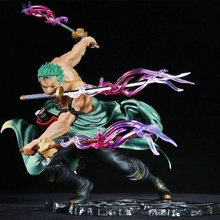 Hot Selling Een Stuk 18Cm Anime Figuur Roronoa Zoro 1/8 Drie-Blade Sa-Maximale Ver. Pvc Action Figure Collection Model Speelgoed