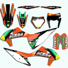 decal for ktm 2019 sx sxf 125 150 250 350 450 racing motorcycle dirt bike sticker graphic for ktm sx f Team Decal For KTM SX SXF 2019 2020 For KTM EXC XC XCF 2020 Custom Motocross Racing Sticker Graphic Kit For 125 150 250 350 450